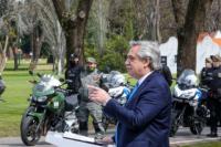 Fernández cargó contra los policías: