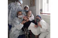 Tiene 109 años, superó el coronavirus y