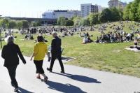 Suecia: sin distanciamiento, sin cuarentena y registra 14 casos graves de Covid