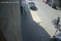 Video: así le robaron el millón de pesos al empleado del mayorista