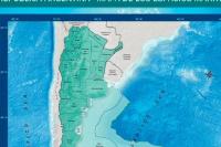 El nuevo mapa de Argentina: Tierra del Fuego es ahora el centro del país