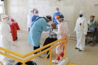 Realizaron hisopados preventivos en la Residencia de Adultos Mayores