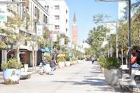 La mayoría de los locales del centro no abrieron sus puertas por el día del empleado de comercio