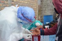 Barreal: 12 personas dieron positivo al test y fueron hisopadas