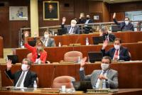 Unánime apoyo legislativo para ayudar a los municipios, tras el terremoto