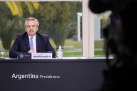 Alberto Fernández anunció la ampliación de la AUH: