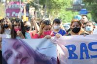 Muerte de Melany: familiares y amigos marcharon en pedido de justicia