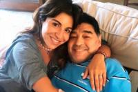 El posteo de Gianinna minutos antes de la muerte de Diego