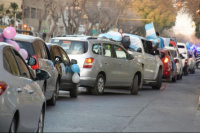 La iglesia evangélica y católica de San Juan impulsan una caravana contra el aborto legal