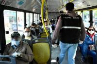 San Juan: vuelven a permitir pasajeros parados en los colectivos en hora pico