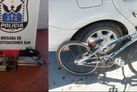 Recuperaron los elementos robados de la pista de bicicross de Rawson