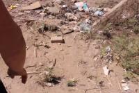 """Habló la vecina que encontró al nene atado: """"Estaba descalso y pedía agua"""""""