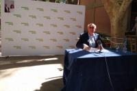 Tadeo Berenguer oficializó su candidatura a rector de la UNSJ