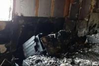 Salieron por la Navidad y se les incendio la casa: perdieron todo