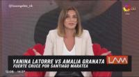 A los gritos: Amalia Granata le frenó el carro a un invitado en LAM