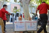 Esta semana llegan a San Juan 13.700 vacunas de AstraZeneca
