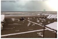 Un tornado generó destrozos en Pinamar: ciudades sin luz, casas destruidas y árboles caídos
