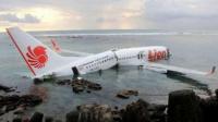 Encontraron el avión que cayó al mar y aseguran que sufrió un accidente