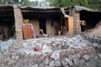 Al menos 16 familias de Calingasta fueron afectadas por el sismo
