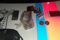 Detienen a cuatro jóvenes con 250 gramos de marihuana