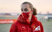 La primera mujer en la Academia de Ferrari tiene 16 años