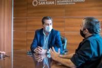 El Ministro de Desarrollo Humano se reunió con uno de los referentes del Plan Argentina contra el Hambre