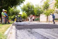 Capital comenzó la 2° etapa de repavimentación en avenida Rawson