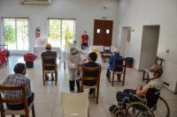 Ya se vacunaron 256 adultos mayores de 10 residencias de la provincia