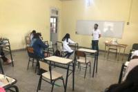 Alrededor de 1400 chicos rindieron para ingresar a los colegios Preuniversitarios