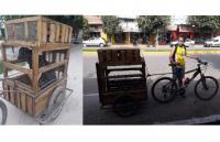 Taxi-pett, el original proyecto de una joven sanjuanina