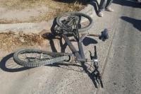 Atropellaron a una ciclista de 44 años y terminó con fractura expuesta