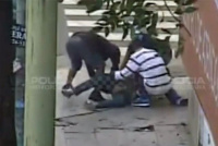 """Un adolescente de 14 años fue hospitalizado, tras un salvaje robo """"piraña"""" en Chimbas"""