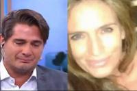 Guillermo Andino se quebró al aire por la muerte de su cuñada