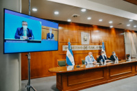 Fernández anunció la construcción de un nuevo hospital para San Juan