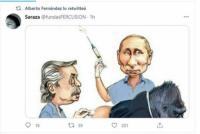 El llamativo tuit de Alberto Fernández sobre la vacuna Sputnik V que después borró