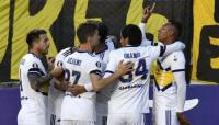 Boca debutó en la Copa Libertadores y se quedó con el partido