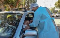 El AutoVac de Chimbas continúa con éxito la vacunación contra el coronavirus