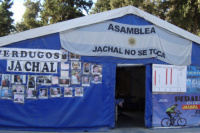 Tras la sequedad del Dique Los Cauquenes, integrante de Jáchal No Se Toca pidió mayor cuidado del agua