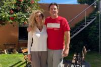 Eduardo Cáceres y su novia dieron positivo de Covid-19: