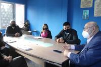 Ullum: Soler se reunió con la titular del CDR del Ministerio de Desarrollo Social de la Nación