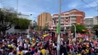 """""""El partido no se va a jugar"""": preocupación en Colombia por una protesta en las afueras del estadio donde jugará River"""