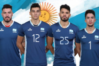 Cuatro sanjuaninos confirmados en la selección Argentina de Voleibol