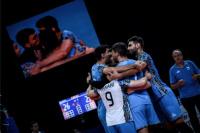 Gran triunfo de Argentina sobre Serbia con 3 sanjuaninos en cancha