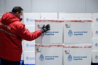 Más vacuna para San Juan: llegaron 15.500 dosis de la AstraZeneca