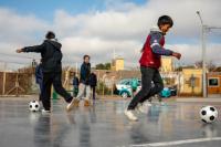 Capital inauguró una nueva plaza en el pueblo viejo de Concepción