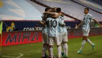Argentina le ganó 1-0 a Uruguay y el Kun Agüero estuvo ausente
