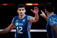 El sanjuanino Bruno Lima, la figura de Argentina en la victoria ante Irán