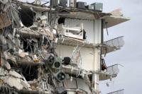 Miami: Adelantaron al domingo la demolición de los restos del edificio por la llegada de la tormenta Elsa