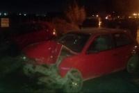 Dos autos destruidos tras fuerte choque: ambos conductores fueron hospitalizado