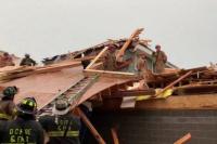 Otro derrumbe de un edificio en Estados Unidos: hay varios heridos